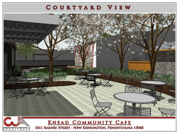 Preview courtyard view